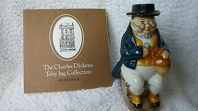 Mr Pickwick - Charles Dickens Toby Jug Collection - Wood and Sons