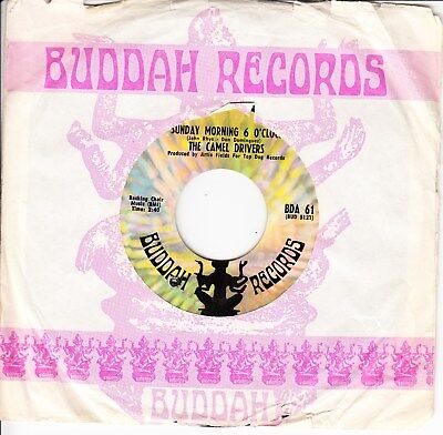 The Camel Drivers *sunday Morning 6 O'clock/ Give It A Try* Us 1968 Garage Rock
