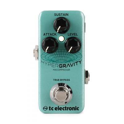 TC Electronic HyperGravity Mini Compressor Guitar Effects Pedal