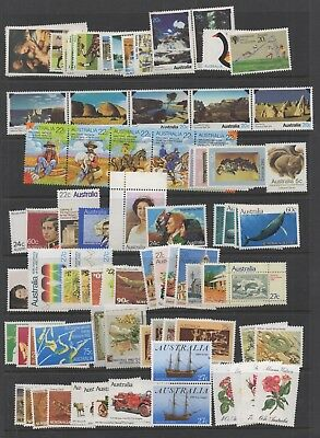 Australia. 1987. Selection of unmounted mint sets.