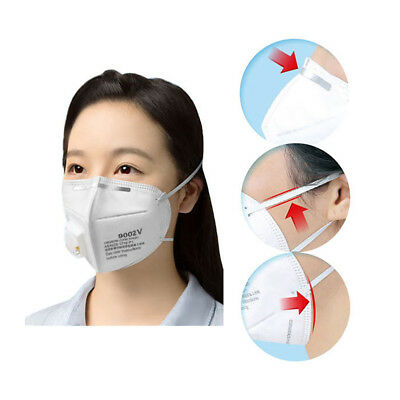 Unisex 3M White Half Face Protective Filter Mask Folding Anti-Dust Respirator