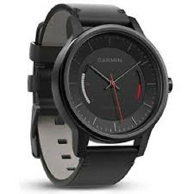vivomove Classic with Black Leather Band Activity Tracker Watch BRAND NEW!