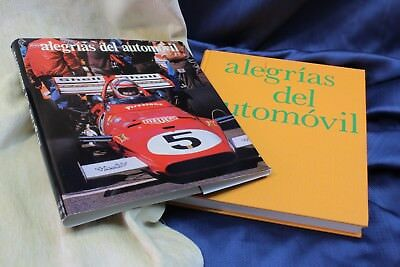 Book Joys of the car. 1973 Libro Alegrías del automóvil