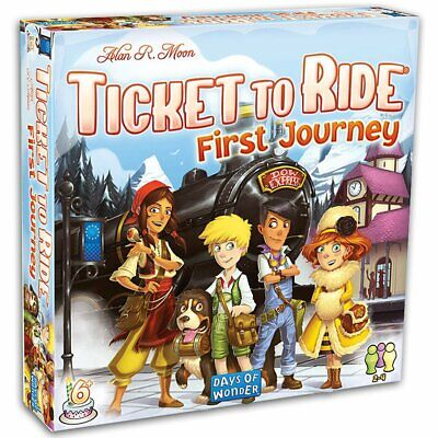Ticket to Ride Europe First Journey Board Game Card Game