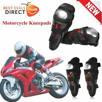 Motorcycle Kneepads Stainless Steel Outdoor Riding Breathable Knee Protectors GT