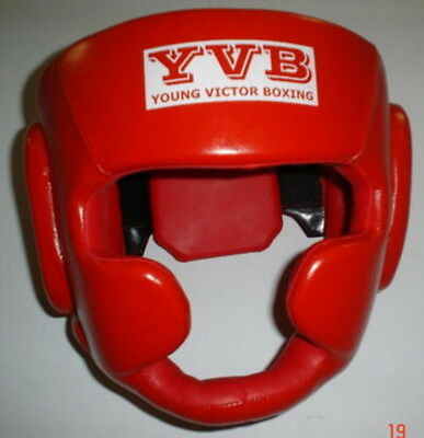 Boxing Head Guard (genuine leather) YVB2106 AU