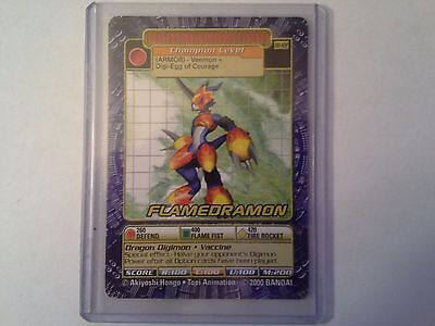 Digimon Card Flamedramon BO-122 Mint