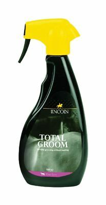 Lincoln Total Groom Dirt & Stain Remover Spray Horse Coat Care- 500ml 3995