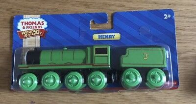 HENRY TRAIN Thomas the Tank & friends wooden railway engine Y4072 - Brio comp