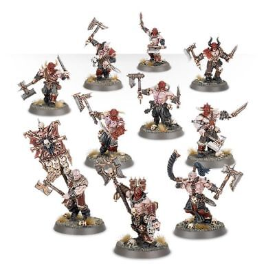 Warhammer Age of Sigmar Warriors of Chaos Bloodreavers x10 new on Sprue
