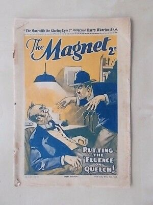 THE MAGNET - BILLY BUNTER'S OWN PAPER - VINTAGE BOYS COMIC - MARCH 13th 1937
