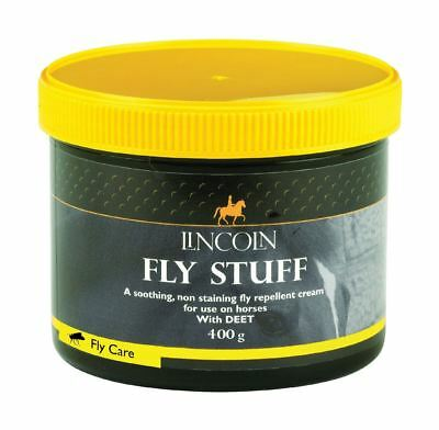 Lincoln Fly Stuff Repellent Cream Fly Care 400g 4087
