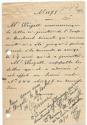 EGYPT ÄGYPTEN 1906 RARE LETTER ABOUT ENGLISH UK Arthur Weigall