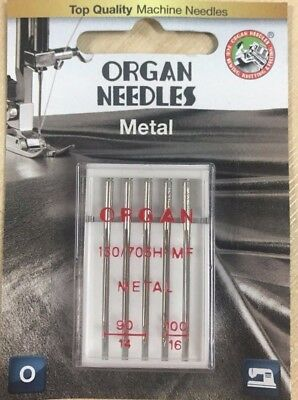 Mixed Size 90-100 pkt  5 BLB128 Organ Leather Sewing Machine Needles 130//705H