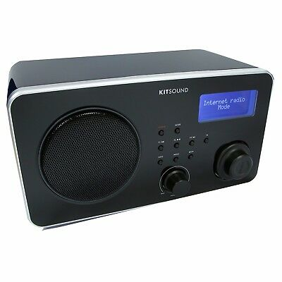 KitSound Surfer Internet Radio Wireless Alarm Clock