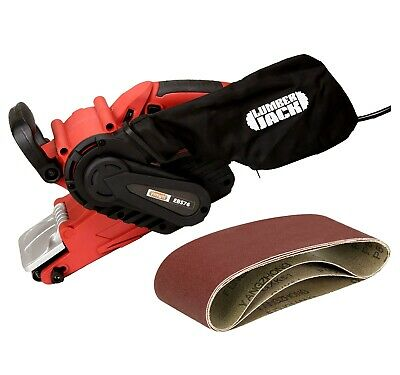 3 Inch Electric Hand Belt Sander Tool with Sanding Dust Bag