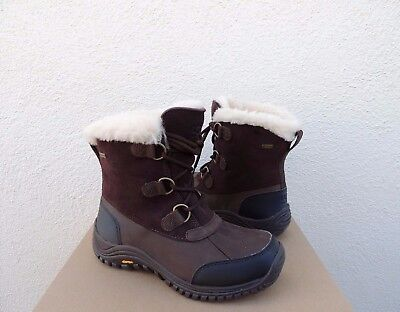 35706811d99 UGG OSTRANDER STOUT BROWN eVENT WATERPROOF WINTER SNOW BOOTS, US 6.5 / 37.5  ~NEW