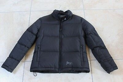 HORSEWARE Rambo Downy Black Duck Down filled Quilted puffa jacket UK 12 / 14