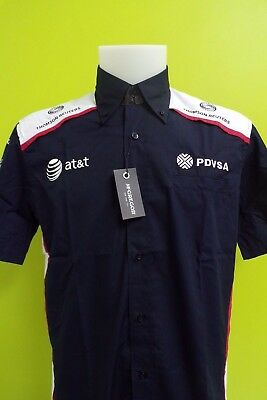 Williams F1 Team Issue Sponser Shortsleeve Race Shirt Mens Xl