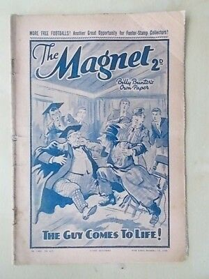 THE MAGNET - BILLY BUNTER'S OWN PAPER - VINTAGE BOYS COMIC - NOVEMBER 5th 1938