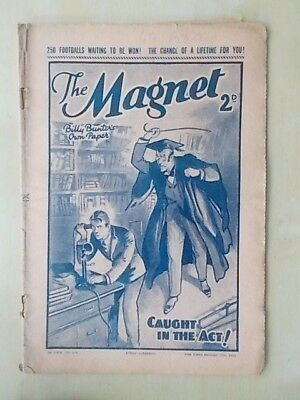 THE MAGNET - BILLY BUNTER'S OWN PAPER - VINTAGE BOYS COMIC - NOVEMBER 12th 1938