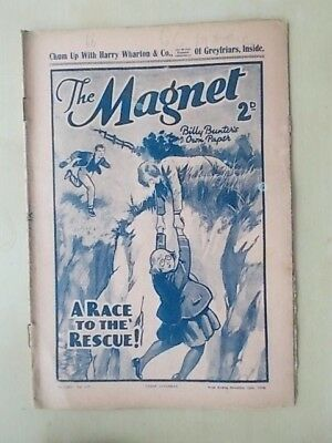 THE MAGNET - BILLY BUNTER'S OWN PAPER - VINTAGE BOYS COMIC - NOVEMBER 19th 1938