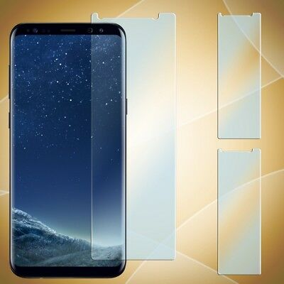 2x Panzer Glas für Samsung Galaxy S8 Plus Display Schutz Folie Glass Handy Folie