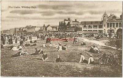Whitley Bay The Links Vintage Postcard 9.10