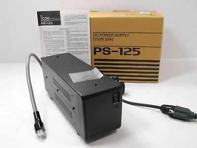 Icom PS-125 13.8 VDC @ 25 Amp Switching Power Supply EXCELLENT +Orig Box, Manual