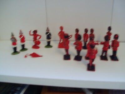 Vintage Lone Star Harvey Series Plastic Toy Soldiers And Others