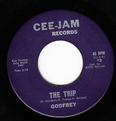 Godfrey *the Trip/ The Hard-Rockers Come On, Come On* 1965 Us Mod Garage Psych