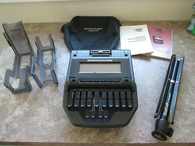 Stentura 8000 Professional Court Reporter Machine With Accessories