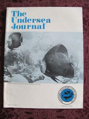 1974 V7 N2 The Undersea Journal Magazine Diving Instructors Latest Vests Buoy