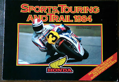 Honda Sports, Touring and Trail Brochure 1984.