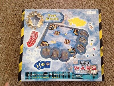BBC Robot Wars The Game Board Game 1996 Complete With Instructions VGC