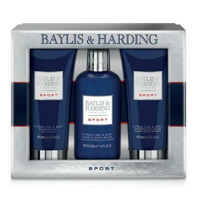 Baylis & Harding Citrus Lime and Mint Gift Pack 3 Piece FREE P&P