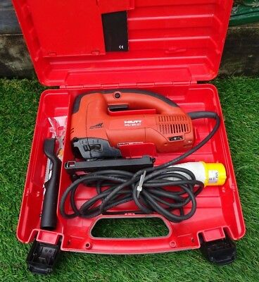 A GOOD CASED 110v HILTI WSJ850-ET ORBITAL JIGSAW IN PERFECT WORKING ORDER