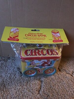 Curious George Circus Bank New