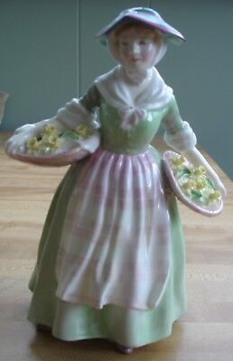 Royal Doulton Daffy Down Dilly Figurine #1712 -- 8 1/8""