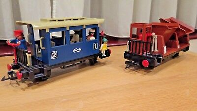Playmobil Model Railway System Truck And Coach - G Gauge Lgb Compatible
