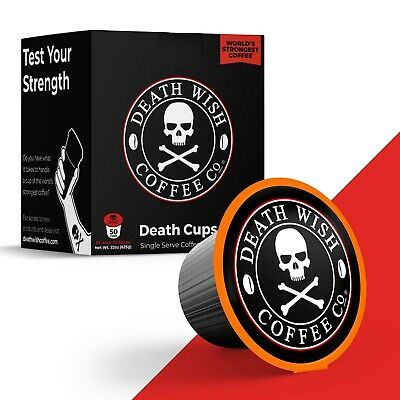 Death Wish Coffee Co (Official) - Worlds Strongest Coffee: Single Serve 50 Count