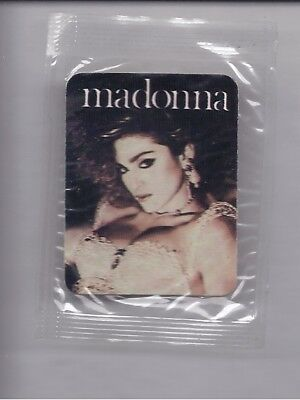 RARE 1987 Hostess RIP INTO ROCK sticker Madonna