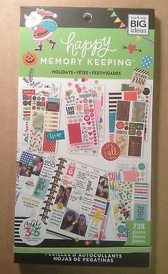"""NEW! me & my big ideas create 365 """"HOLIDAYS"""" Value Pack Stickers"""