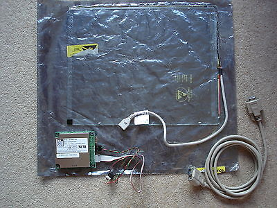 """ELO 15""""  Intellitouch Touchscreen & controller. SCN-IT-FLT15.0-001-003.   Used"""