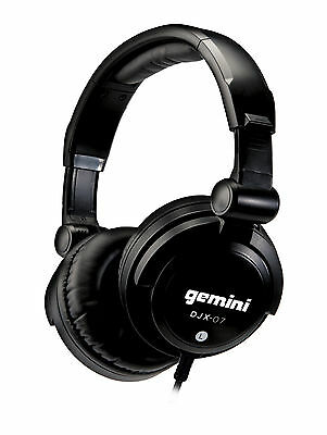 Gemini DJX-07 Professional DJ Headphones | DJ | Disco | Party *NEW*