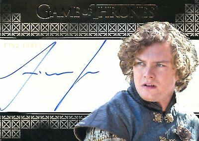 Game Of Thrones Valyrian Steel VALYRIAN AUTOGRAPH card FINN JONES as LORAS