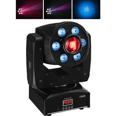 IMG Stageline LED Moving Head Spotwash-3048 Spot & Wash Combined DJ Disco Light