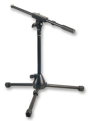 Microphone Boom Stand Short Kick Bass Snare mic stand heavy duty stable metal