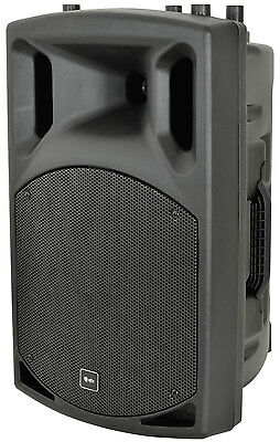 "Qtx Qx15A 15"" Active Pa Speaker Dj Disco 500W Sound System Monitor"