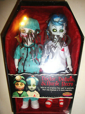 Living Dead Dolls Doctor Dedwin Nurse Necro Factory Sealed Mint